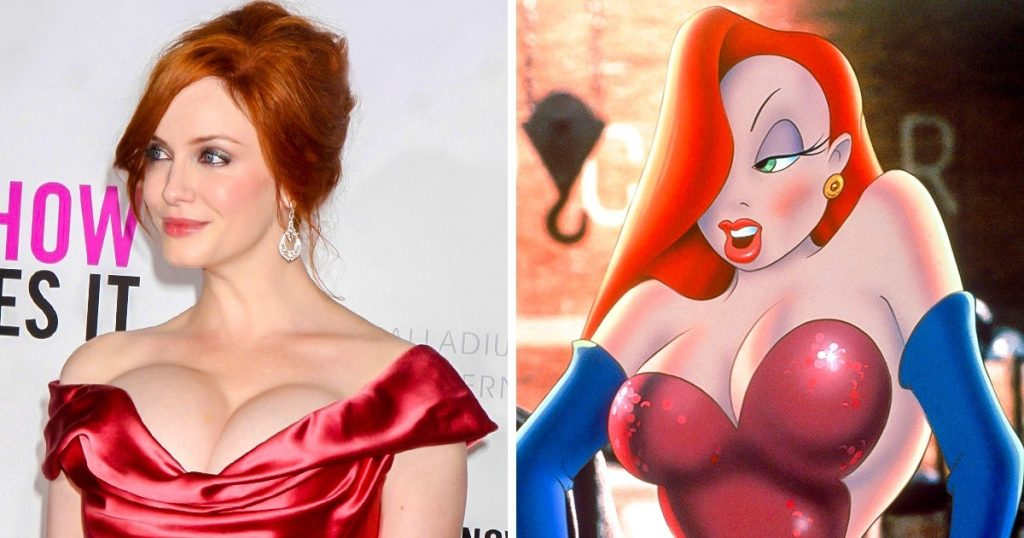 Top 10 Celebrities Who Look Like Copies Of Animated Characters